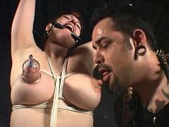Snow's BDSM Tit Torture