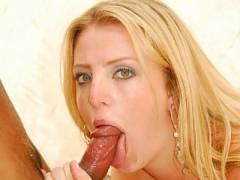 Tool Slurping Blonde Latina Erica