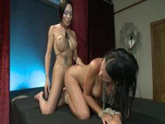 TS Pussy Hunters: Mia Isabella As You Have Never Seen Her Before Nailing A Hot Girl