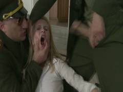 Bound Gangbangs: Daddy's Girl: 19 Year Old Russian Cutie's House Is Invaded By Officers