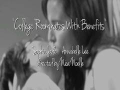 Deep Kissing Lesbians 2: College Roommates With Benefits
