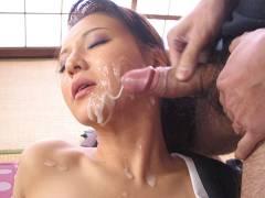 Yuki Tsukamoto moans while pounding shady men
