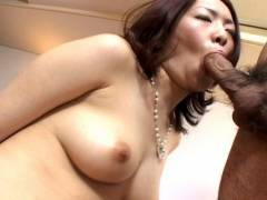 Horny hairy pussy Japanese pluged hard!