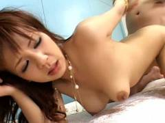 Rin Yuuki drilled deeply in her brown eye – hot coitus in ano